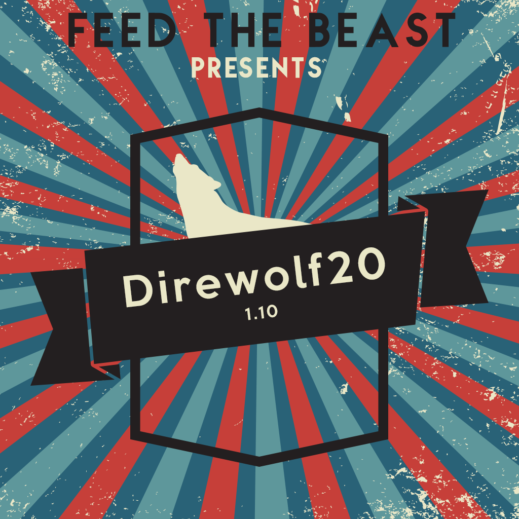 FTB Presents Direwolf20 1.10.2modpack